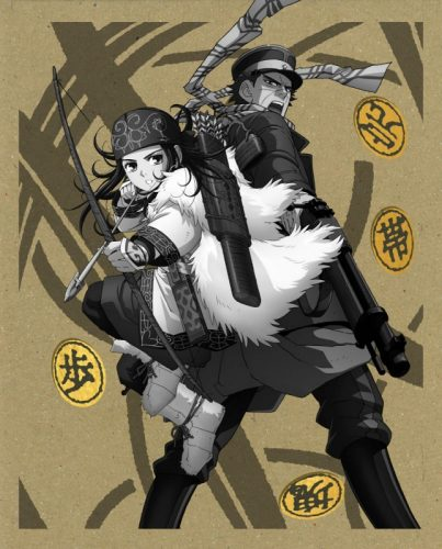 Golden-Kamuy-dvd-403x500 Golden Kamuy Mid-Season Review – Pure Gold In A Search For Treasure