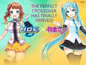 Virtual Idol Hatsune Miku Arrives in Master of Eternity Today!