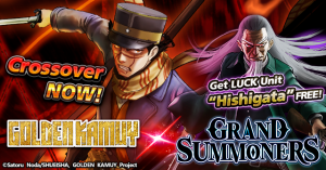 Golden Kamuy Comes to Grand Summoners for a Limited Time! EPIC Crossover!