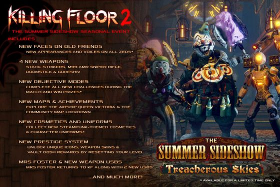 Killing-Floor-2-Treacherous-KF2_SS_Steampunk_CSI_05-500x314 Killing Floor 2: Treacherous Skies - PC Review