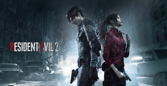 Leon_Claire_KeyArt_August-560x289 Claire Redfield enters the nightmares in Resident Evil 2!