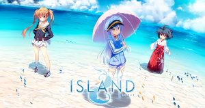 "It's Here! Frontwing Releases Long-Awaited Sci-Fi Visual Novel ""ISLAND"" on Steam!"