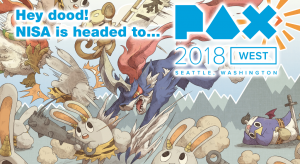 NIS America Will be Flying to PAX West 2018!