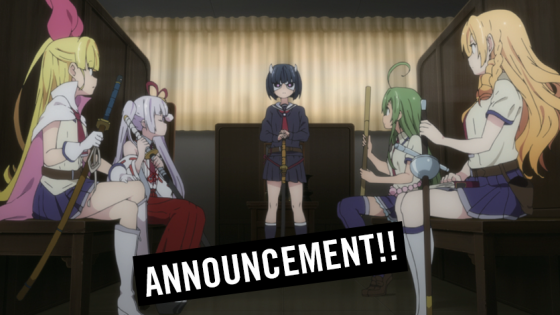 "News-Armed-Girls-English-DUB-HIDIVE-560x315 School is Back in Session with English Dub of ""Armed Girl's Machiavellism"" on HIDIVE"
