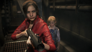 Claire Redfield enters the nightmares in Resident Evil 2!