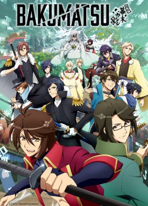 "Bakumatsu 2nd Season Announces New Title, ""Bakumatsu Crisis"" & April 5 Start Date! + New Director & Staff Announced, Too!"