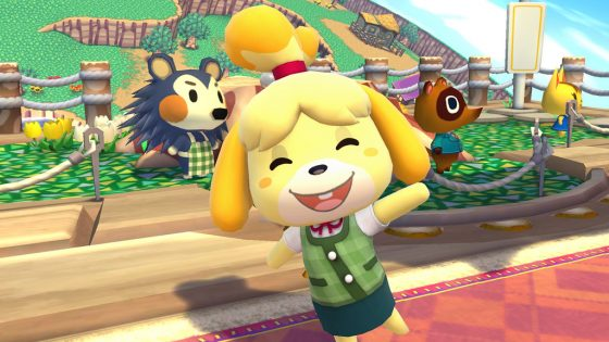 Isabelle-Smash-Ultimate-Echo-560x315 Animal Crossing's Own Isabelle Makes her Way into Smash Bros. Ultimate!
