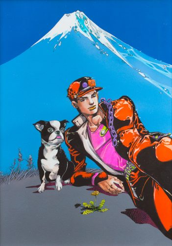 Jojo-Bizzare-adventure-Wallpaper-351x500 Top 10 Anime with Dogs as Sidekicks [Best Recommendations]
