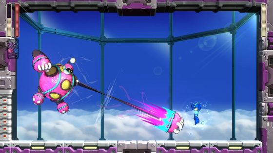 Mega-Man-11-Bounce-Weapon-560x315 Pew! Pew! Mega Man 11 Demo Available NOW on Nintendo Switch!