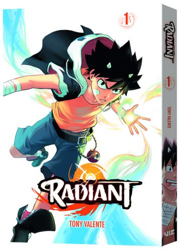 Radiant_GN01_3D-356x500 NYCC + VIZ Media Welcome RADIANT Manga Creator Tony Valente, BORUTO Voice Actors, The Producer Of CASTLEVANIA, And More!