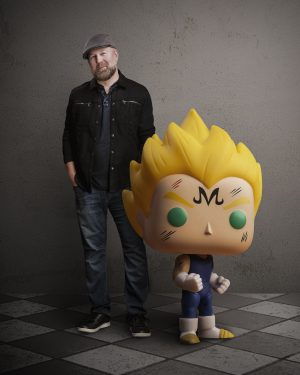 This Funko Pop! is Over 9000! WHAT?! 9000?! Christopher Sabat Unveils Over9000.com Exclusive Majin Vegeta Funko Pop!