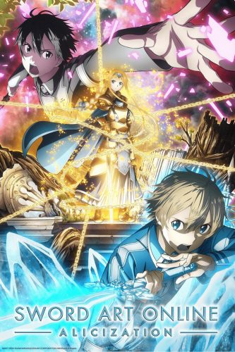 Sword-Art-Online-Alicization-Arc-3rd-Season-333x500 Explore All the Fantasy & Supernatural Anime for Fall 2019!