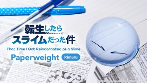 "Pre-orders Now Open for Rimuru Paperweight From ""That Time I Got Reincarnated as a Slime""!"
