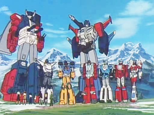 Transformers-Super-God-Masterforce-Capture Anime Rewind: Transformers Super-God Masterforce -Human/Transformers Hybrid-