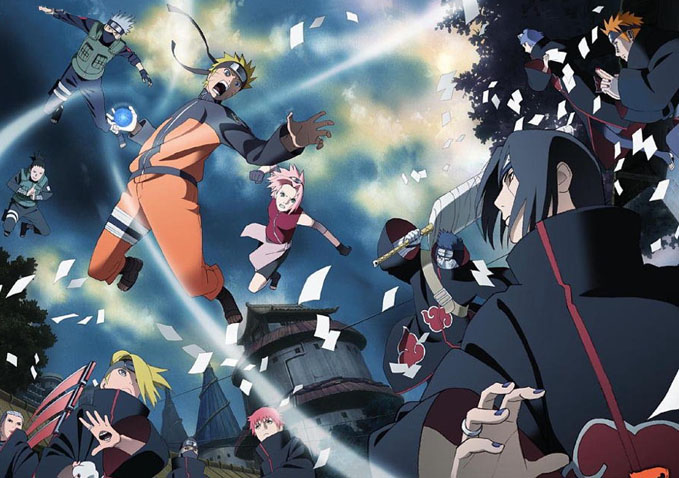 cdjapan-Wallpaper Anime Rewind: Naruto - Best of the Early Days