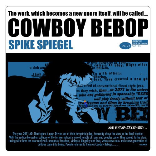 Cowboy-Bebop-Wallpaper-500x500 What Makes Up an Adventure Anime? [Definition; Meaning]