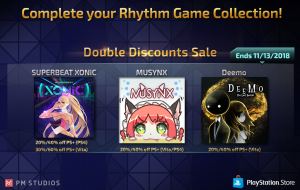 PM Studios Announces Rhythm Game Sale! Don't Miss Out!