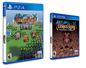 Dragon Sinker is now available for PlayStation 4 and PlayStation Vita physically, Now with Reversible Covers!