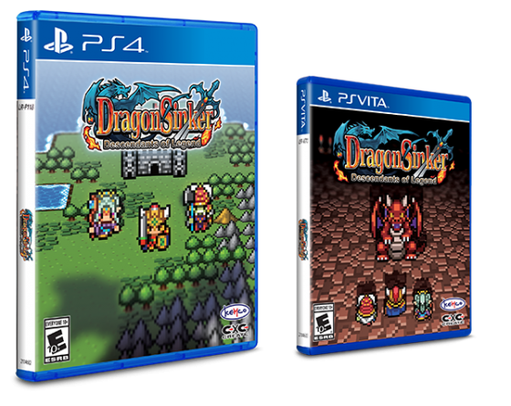 Dragon-Sinker-logo-560x445 Dragon Sinker is now available for PlayStation 4 and PlayStation Vita physically, Now with Reversible Covers!