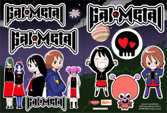 New-Gal-Metal-logo-560x279 Rhythm Rocker Gal Metal Officially gets a North American Release for Oct 30th!