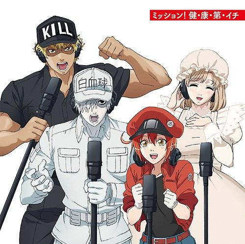 Hataraku-Saibou-Cells-at-Work-Wallpaper-500x498 The Science Behind Hataraku Saibou (Cells at Work!)