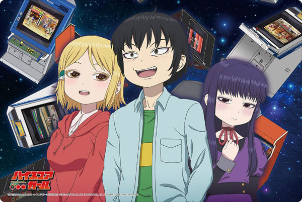 Hi-Score-Girl-Wallpaper High Score Girl Review - The Arcade is my Sanctuary