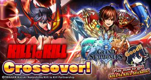 The Action Begins! KILL la KILL Invades Grand Summoners?! KLK Units & MORE in AMAZING Crossover!