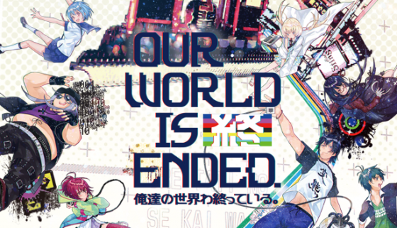 Our-World-is-Ended-Logo-560x321 Our World is Ended, nueva novela visual anunciada para PC, Switch y PlayStation 4