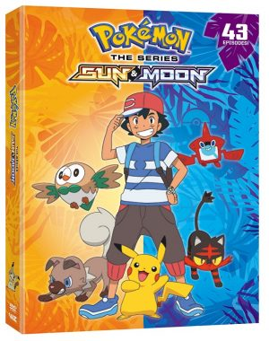 VIZ Media Officially Announces the Release of POKÉMON THE SERIES: SUN & MOON COMPLETE COLLECTION