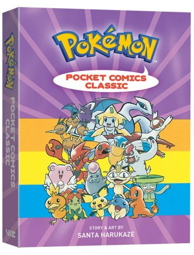 PokemonPocketComics-Classic-3D-380x500 VIZ Media Delivers Once Again with Brand New POKÉMON POCKET COMICS: CLASSIC!