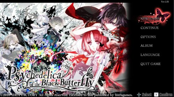 "Psychedelica-of-the-Black-Butterfly-SS-1-560x315 Mystery Adventure Otome Game  ""Psychedelica of the Black Butterfly"", to be released on STEAM"