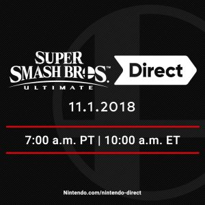 Se viene el último Nintendo Direct previo a Super Smash Bros. Ultimate