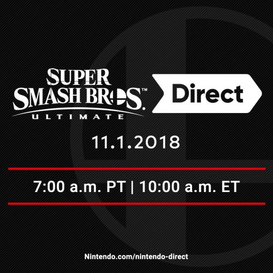 Smash-Ultimate-News-560x560 The Last Super Smash Bros. Ultimate Direct Before the Game's Launch is Coming!