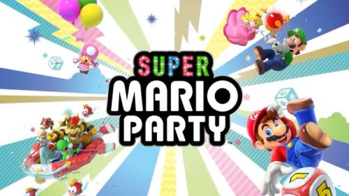 Super-Mario-Party-Logo-500x281 Super Mario Party - Nintendo Switch Review