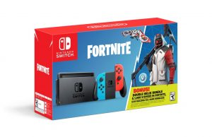Nintendo Switch bundle with $45 worth of Fortnite bonuses is now available!