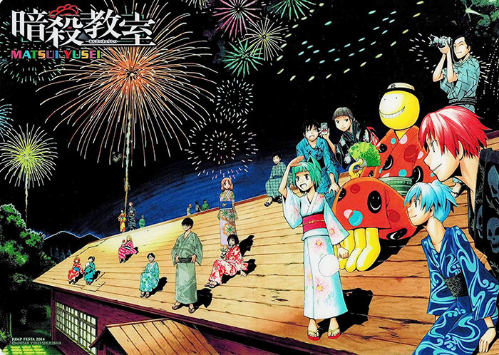 assassination-classroom-season-2-Wallpaper 5 Matsuri (Festivals) in Anime