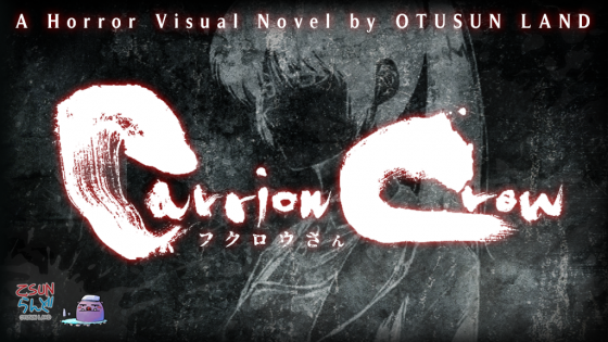 "Carrion-Crow-Main-Image-560x315 Independent Developer OTUSUN LAND Launches Kickstarter for Horror Visual Novel Sequel ""Carrion Crow"""