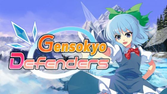 Gensokyo-Defenders-Logo-1-560x315 Action Tower Defense Gensokyo Defenders Bespells Switch Today