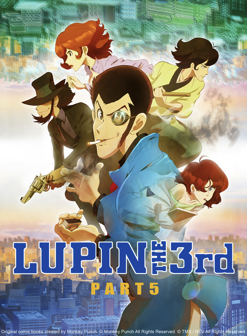 Lupin the 3rd Part 5 Available for Digital Purchase Nov 18th