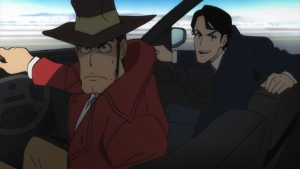 5 Action Scenes in Lupin III Part 5