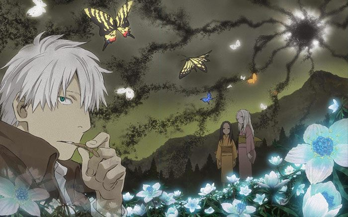 Mushishi-Mushi-shi-Zokusho-Wallpaper-700x438 Top 10 Horror Anime for Girls [Best Recommendations]