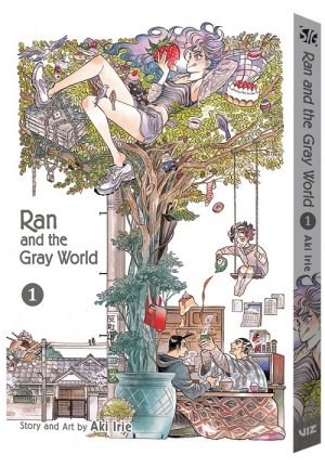 VIZ Media Officially Announces the Release of RAN AND THE GRAY WORLD Manga Series!