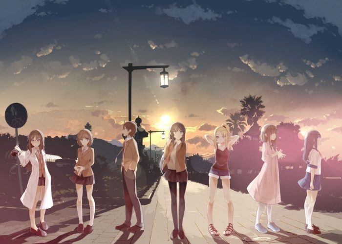 Seishun-Buta-Yarou-wa-Bunny-Girl-Senpai-no-Yume-wo-Minai-Wallpaper-700x499 Top 10 Anime Series of 2018 [Best Recommendations]