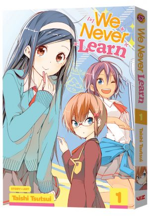 VIZ Media Debuts the High School Rom-Com Series We Never Learn!