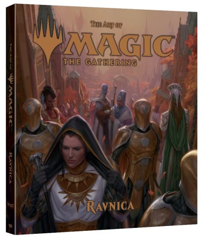 ArtOfMagicTheGathering-Ravnica-3D-419x500 VIZ Media Debuts ART OF MAGIC: THE GATHERING - RAVNICA