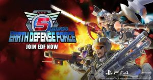The Alien Invasion Begins Today! Earth Defense Force 5 Out Now for PlayStation 4
