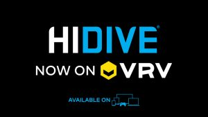 HIDIVE full library is now on VRV