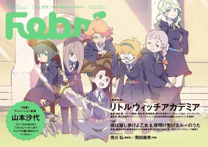 Little-Witch-Academia-Wallpaper-700x494 Top 10 Adventure Anime for Girls [Best Recommendations]