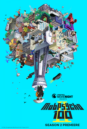 "Crunchyroll & Fathom Events Partner for ""Mob Psycho II"" Theatrical Premiere"