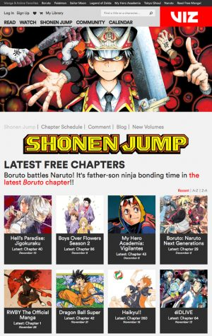 VIZ Media Launches A New FREE Era For WEEKLY SHONEN JUMP